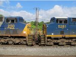 CSX 250 and 5281